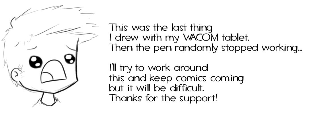 Broken Wacom Tablet! D:
